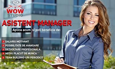 Resurse Umane/ Asistent Manager